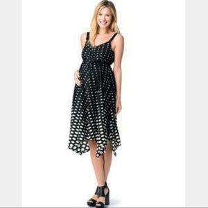 Jessica Simpson Polka Dot Maternity Dress NWT